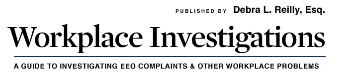 Workplace Investigations Blog